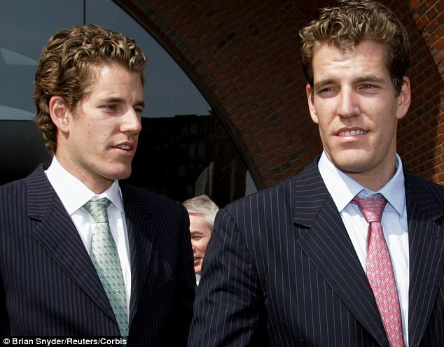 Winklevoss twins predict 1 BTC will be worth $40,000