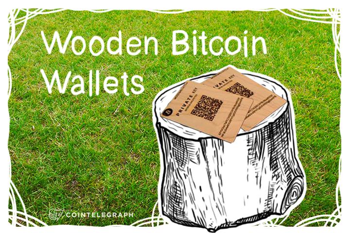 Wooden Bitcoin Wallets