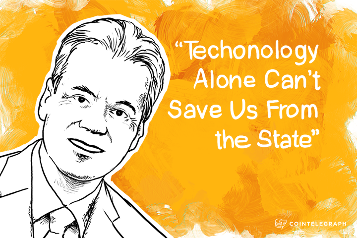 "Mises Institute President: ""Techonology Alone Can't Save Us From the State"""