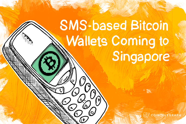 SMS-based Bitcoin Wallets Coming to Singapore