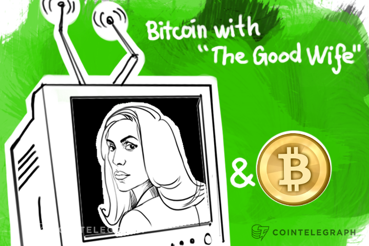 "Bitcoin with ""The Good Wife"""