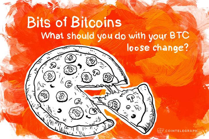 Bits of Bitcoins: What should you do with your BTC loose change?