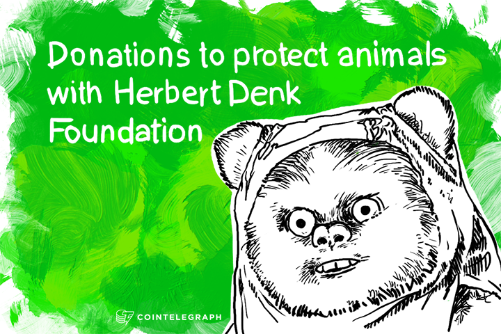 Donations to protect animals with Herbert Denk Foundation