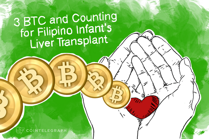 3 BTC and Counting for Filipino Infant's Liver Transplant