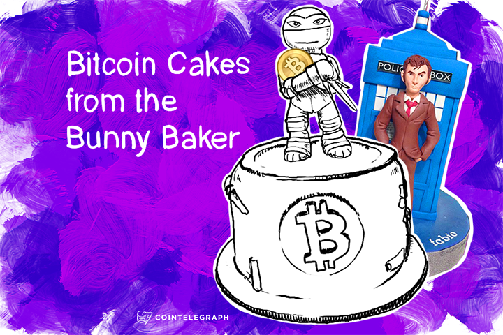 Bitcoin Cakes from the Bunny Baker