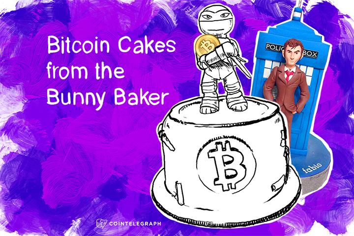 Bitcoin Cakes from the Bunny Baker