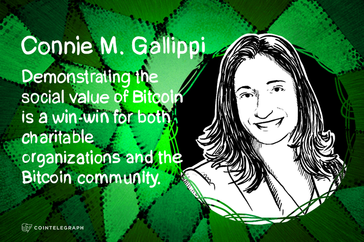 Bitcoin for a Charitable Cause: An Interview with Connie M. Gallippi