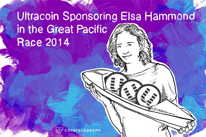 Ultracoin Sponsoring Elsa Hammond in the Great Pacific Race 2014