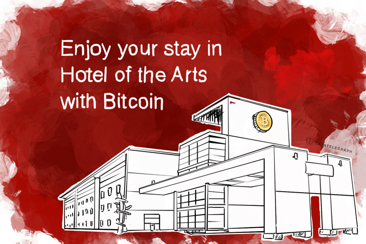 Enjoy your stay in Hotel of the Arts with Bitcoin