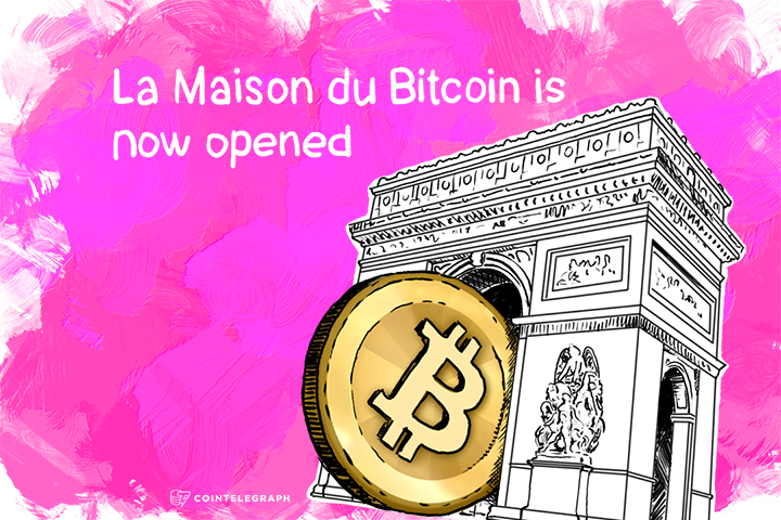 La Maison du Bitcoin is now opened
