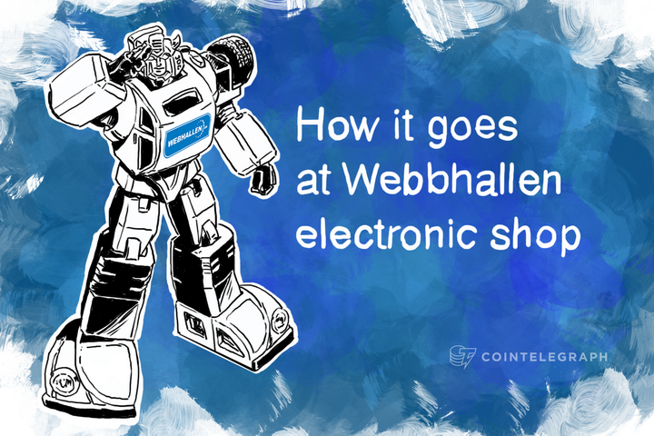 How it goes at Webbhallen electronic shop