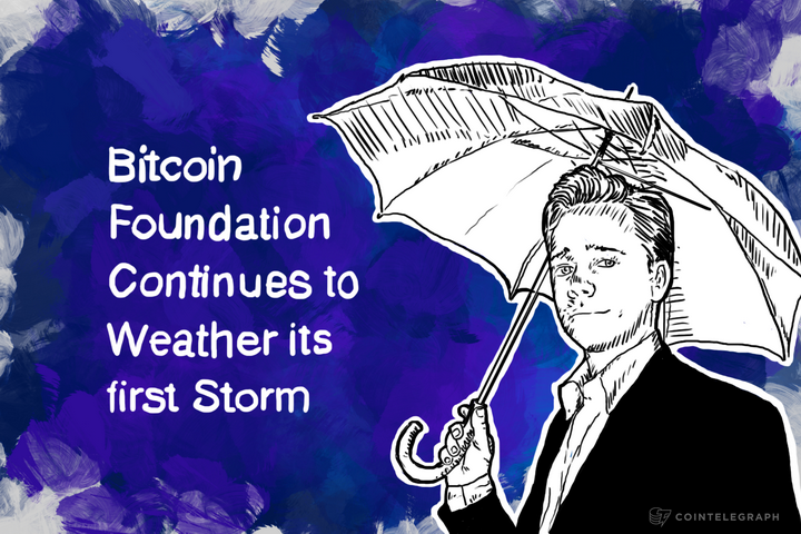 Bitcoin Foundation Continues to Weather its first Storm