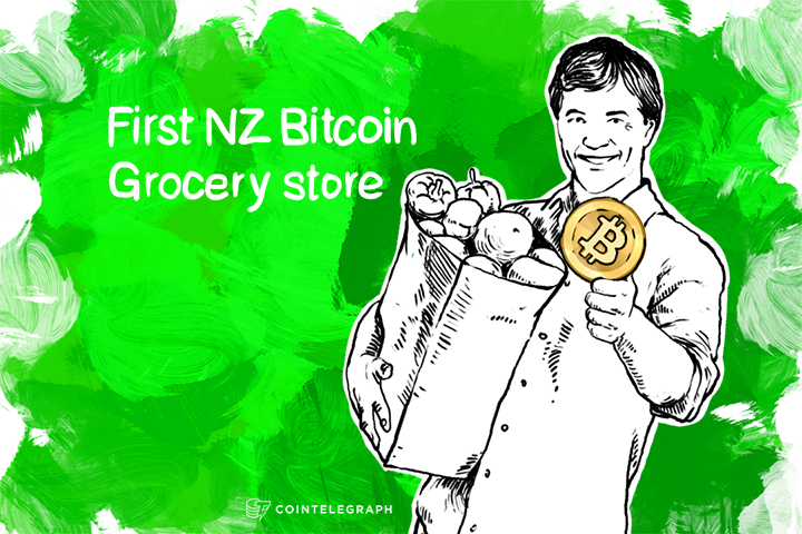 First NZ Bitcoin Grocery store reports huge orders