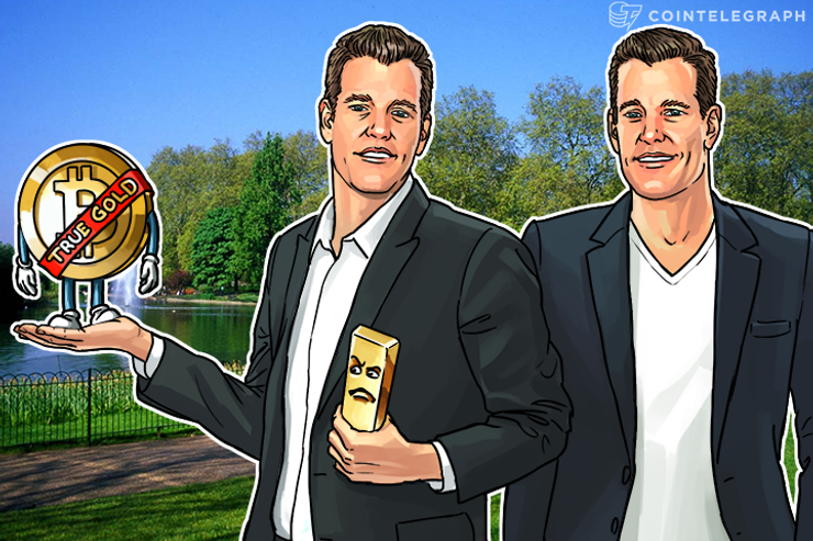 Bitcoin Better at Being Gold Than Gold, Winklevoss Twins Say