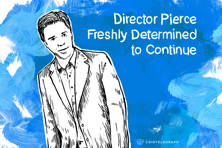 Director Pierce Freshly Determined to Continue