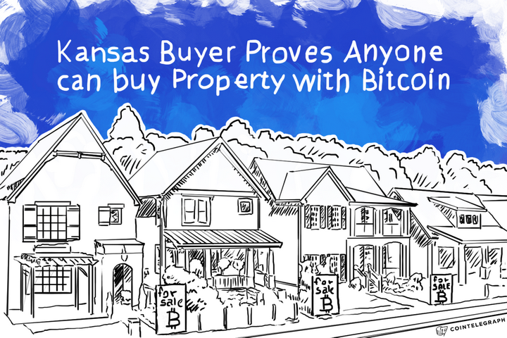 Kansas Buyer Proves Anyone can buy Property with Bitcoin