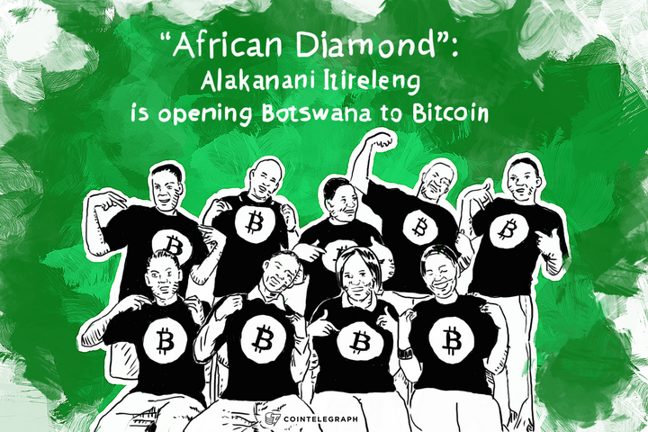 """African Diamond"": Alakanani Itireleng is opening Botswana to Bitcoin"