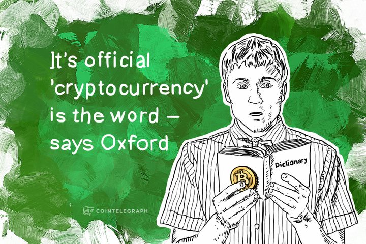 It's official 'cryptocurrency' is the word – says Oxford