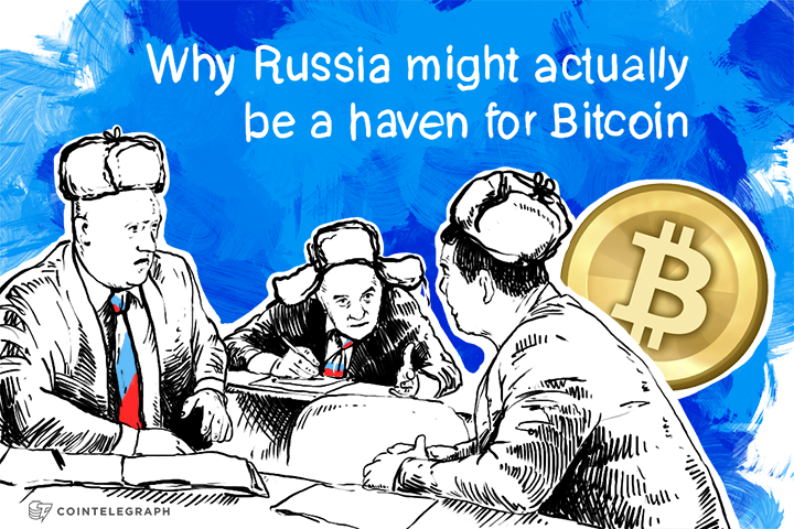 Why Russia might actually be a haven for Bitcoin