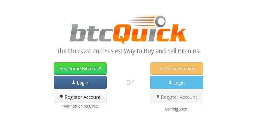btcQuick – the Quickest Bitcoin Seller