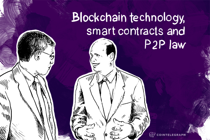 Blockchain technology, smart contracts and P2P law