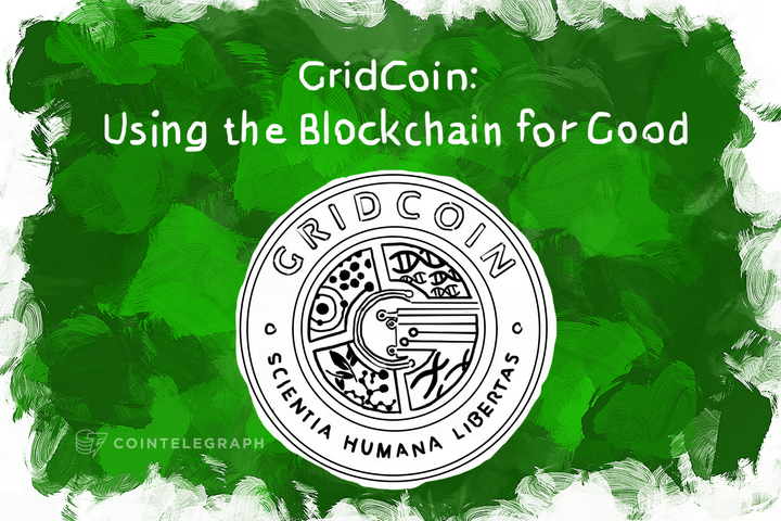 GridCoin: Using the Blockchain for Good