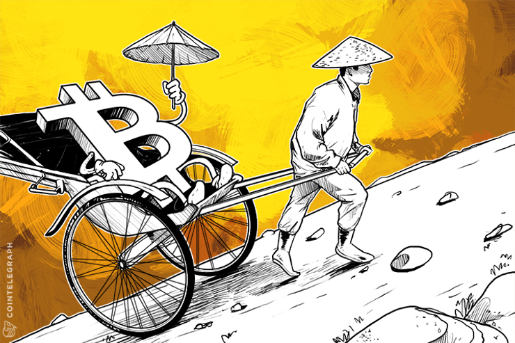 Bitcoin Price Charges towards $300 as China Cracks Down on Underground Banks