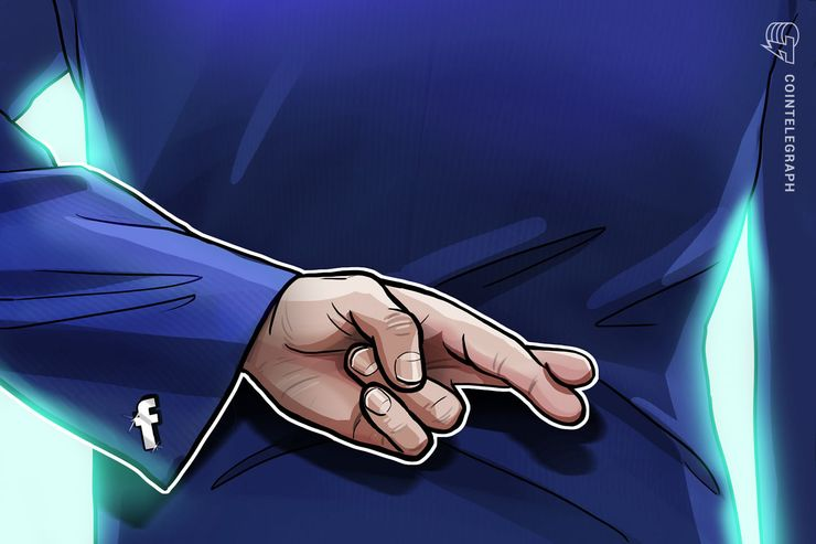 Anúncios do Facebook sobre a reversão na proibição dos anúncios cripto, foram bloqueados pelo próprio Facebook