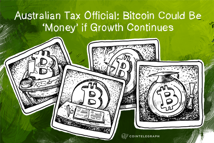 Australian Tax Official: Bitcoin Could Be 'Money' if Growth Continues