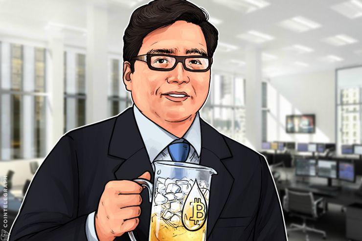 Fundador da Fundstrat Tommy Lee inabalável frente à queda do Bitcoin