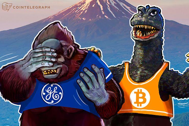 Aos US $ 160 bilhões, capitalização de mercado do Bitcoin é maior do que a da um dia maior empresa do mundo