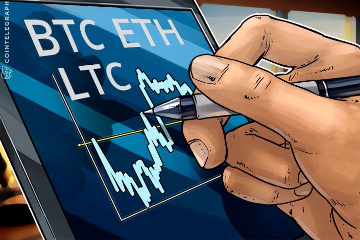 Bitcoin, Ethereum, Litecoin: Análisis de precios, 16 de septiembre