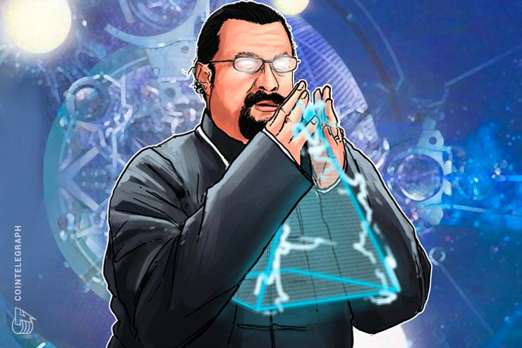 'Zen Master' Steven Seagal Confirms He Is Face Of New 'Superior' Coin Bitcoiin2Gen