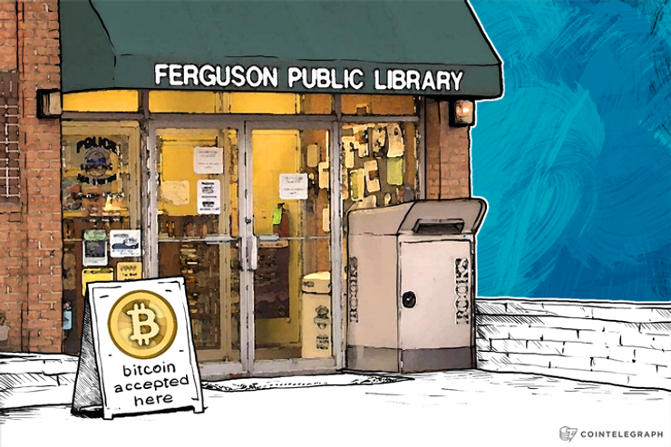 Library in Ferguson Stays Open amid Riots, Decides to Accept Bitcoin