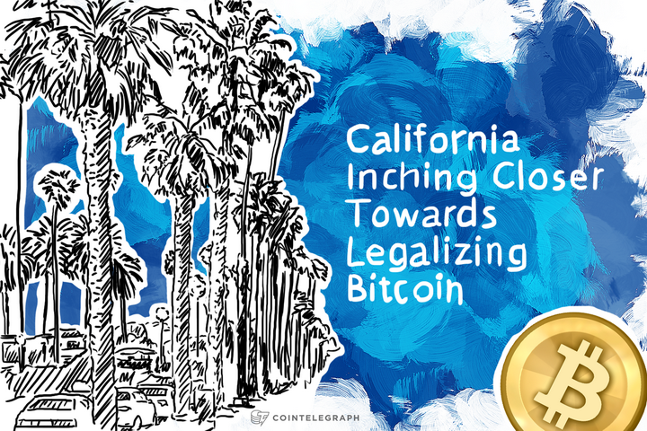 California Inching Closer Towards Legalizing Bitcoin