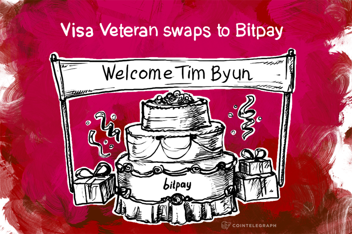 Visa Veteran swaps to Bitpay