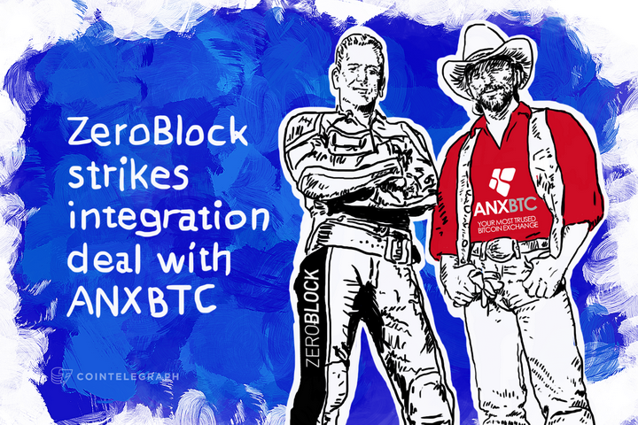 ZeroBlock strikes integration deal with ANXBTC