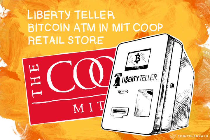 Liberty Teller Bitcoin Atm In Mit Coop Retail Store