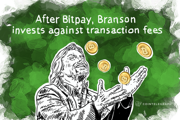 After Bitpay, Branson invests against transaction fees