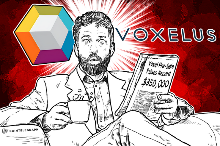 Voxel Pre-Sale Raises Record $350,000