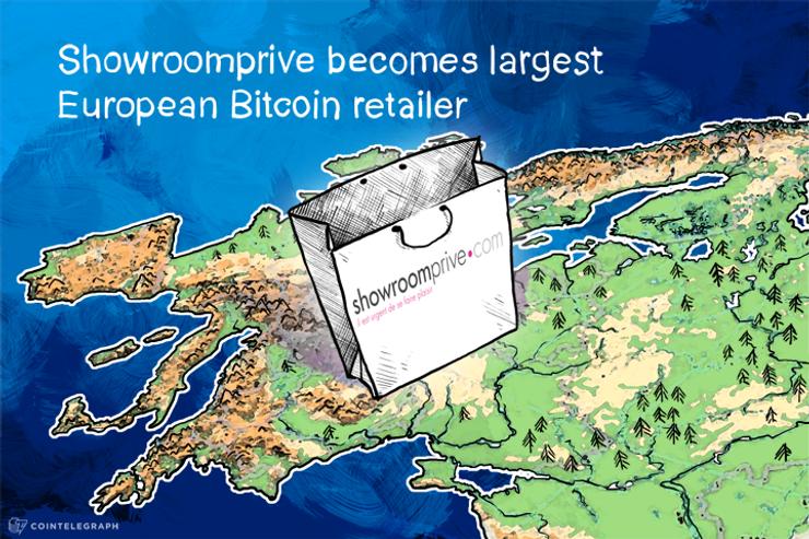 Showroomprive becomes largest European Bitcoin retailer