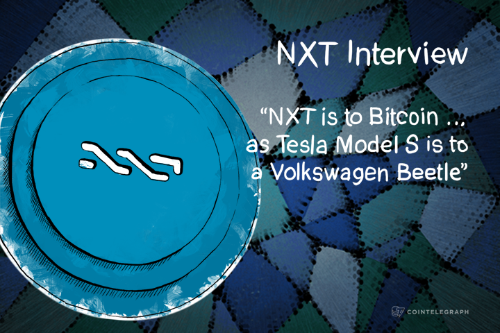 """NXT is to Bitcoin …as Tesla Model S is to a Volkswagen Beetle"" – NXT Interview"