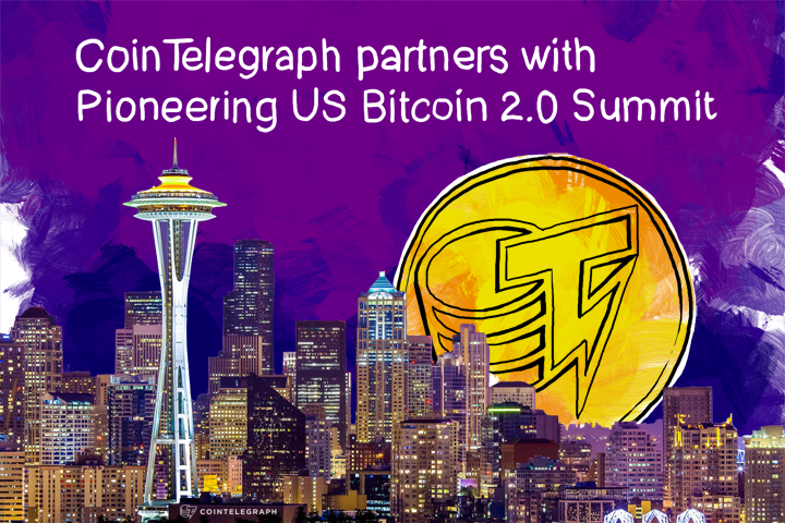 Cointelegraph partners with Pioneering US Bitcoin 2.0 Summit