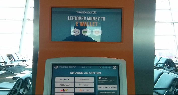 Airport forex kiosk introduces Bitcoin option, gets overwhelmed