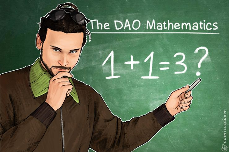 The DAO Mathematics: 1+1 is Actually More Than 2