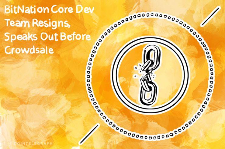 Bitnation Core Dev Team Resigns, Speak Out Before Crowdsale