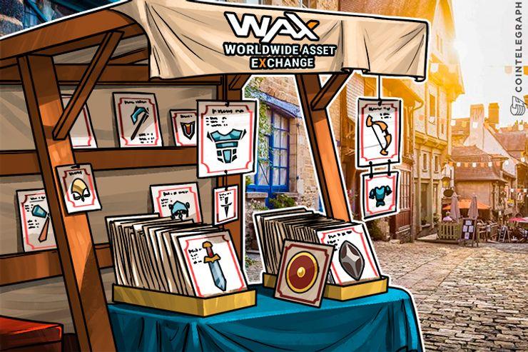 La venta de tokens de WAX está lista para interrumpir la industria virtual de activos de $ 50 billones