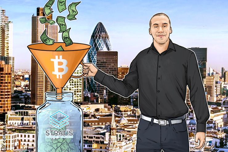 UK Blockchain Company Hits £100,000 Investment via Bitcoin