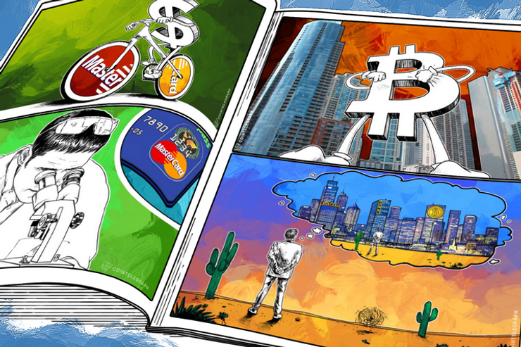 Weekend Roundup: MasterCard Deploys 'P2P' Payments Service in the US, Bloomberg Issues Bitcoin Report