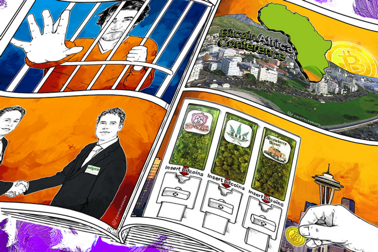 Weekend Roundup: Ulbricht Guilty, BitPay Deal Opens Interesting Opportunities and Africa's 1st Bitcoin Conference